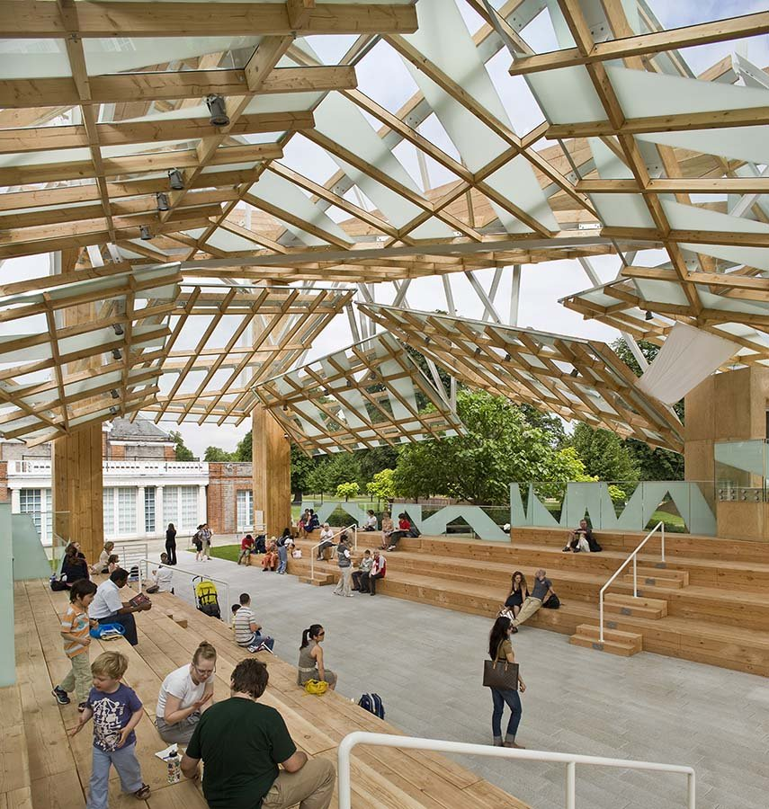 Frank-Gehry - Serpentine Gallery -Londres
